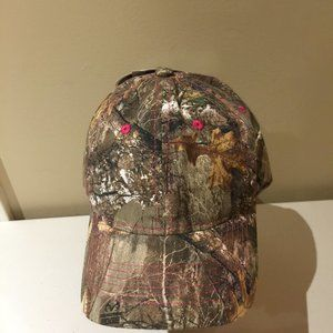 Realtree Camo Ladies Hat Cap